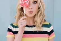✩ quirky Candice King ✩ / // bright star //