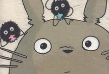 I <3 Totoro & Friends | Ghibli | Hayao Miyazaki / Ghibli, Totoro and friends.  Art of Hayao Miyazaki  / by BETTY CHIN-WU  陳嘉慧