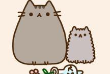 I <3 Pusheen Cat / Pusheen.com.  Pusheen the cat is awesome. That is all / by Betty Chin-Wu