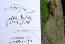 invitations by HELLO calligraphy