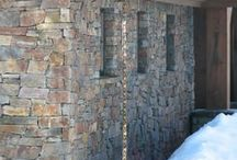 Masonry by Empire Stone Company / Many materials can be used on the exterior of buildings, including ledgestone, river rock, thin veneer and full veneer.