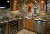 Kitchen & Bath Ideas by Empire Stone Company / Check out these unique ideas on how to use stone inside your home kitchen or bath.