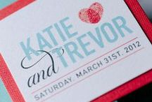 Whimsical Stationery / The Whimsical style is cheerful and endearing. You can spice up this invitation with pictures, illustrations, or unexpected graphics that reflect your fun side and sense of humor. It's for the bride who seeks to put a playful, energetic stamp on her wedding day.