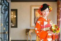 ブーケ 和装 髪飾りなど bouquet-japanese / 和装のブーケ、ボールブーケ、扇ブーケ、和装用髪飾りの写真集