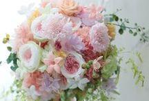 プリザーブドブーケ 色系 preserved flower bouquet - colour / プリザーブドのブーケ集 色ブーケを集めました (白以外)