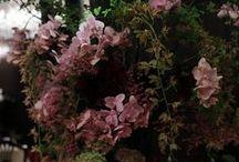 ラグジュアリー wedding flower - luxury, feminine, romantic / ウェディングの花 ラグジュアリー、フェミニン、ロマンティック お花どっさり、キャンドル