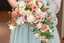 クレッセント、アーム、リースブーケ unique bouquet - crescent, arm, wreath / クレッセントブーケ、アームブーケ、リースブーケ、バスケットブーケ、バッグブーケなどちょっと変わった形のブーケ *ボールブーケはのぞきます