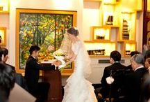 ブーケブートニアの交換儀式 bouquet & boutonniere ceremony / ブーケブートニア交換儀式 ブーケセレモニー