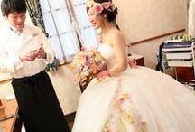 ドレスコサージュなど corsages for dress, neckless, earrings / バックコサージュ、ドレスコサージュ、ネックレス、イヤリングなど