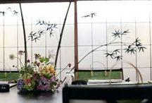 和婚の装花 / 和の卓上装花、メインテーブル装花  *和装の髪飾りなどはブーケ和装に移動しました