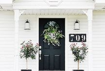 CURB APPEAL | EXTERIORS / To make your house stand out and welcome you home