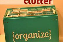 Paper Organization - Declutter