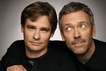 Robert Sean Leonard & Hugh Laurie