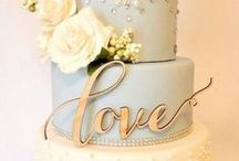 Wedding Cakes & Desserts / All kinds of our favorite sweet and dreamy wedding cakes, cupcakes, and more.
