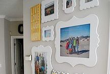 Living Room Gallery Walls / by Cut It Out