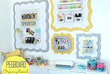 Wall Organization Solutions / by Cut It Out