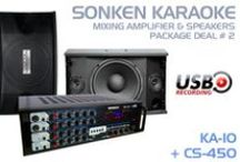 Karaoke Mixing Amplifiers and Speakers / Take your karaoke performance up a level with professional amplifiers and speakers for your karaoke system. All available in Australia from Karaoke Home Entertainment with stores in Melbourne and Perth or shop online www.khe.com.au