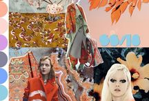 Mood Boards & Trend Forecasts / Inspirational sketchbooks, trend forecasts & ArtsThread Profiles in Fashion & Design
