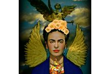 Folk Art & Frida / The fabulous Frida Kahlo and Iconography in Art & Sculpture from around the World.