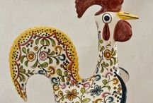 Folk Art - Birds