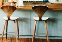 Interiors: Kitchen & Dining / Beautiful colour stories, details, dining nooks and overall kitchen/dining inspiration.