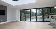 Extension Inspiration / Inspiration for open plan living spaces, extensions and bi-fold doors