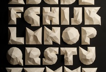 fonts & letters / by Patty Caza