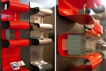 office & bookshelves / by Patty Caza