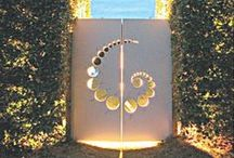 Garden Gates _ LA / A garden gate marks the entrance to your property but it also signals what's beyond. Lets set the tone with one that reflects your style.