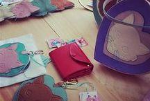 Sweetcats by Sara Miau / Cute leather goods <3