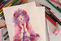 sketching ♥