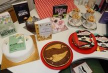 The Great Bookish Bake Off / We held a bookish bake off on World Book Day, challenging the team to make cakes based on our books!