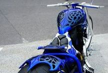 Motorcycles/Helmets / The blue motorcycle on the front of the board is the one I want.  / by Susie G   : ) Moon Goddess