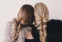 hårstrån och ytligheter.