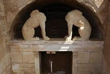 Ancient Tomb at Amphipolis / Αrchaeologists from the 28th Ephorate of Antiquities unearthed a tomb in the city of Amphipolis, near Serres, northern Greece.