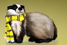 Hufflepuff pride! / So I was sorted in Hufflepuff, and reading the Welcoming Message totally conforted me in the opinion that Hufflepuff was the best fit for me. Proud Huffies, here we are!