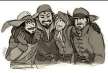 CIA seventeenth century style / the musketeers bbc