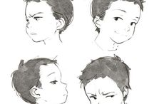 Expressions - 2D Children / From infants to toddlers to pre-teens... (Approx. 0-13 years old)