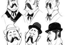 Expressions - 2D Elders / Age 50+ | wrinkles
