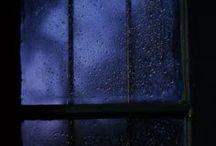 、Sleepless, stormy night / Aesthetic | Rain | Evening | Night