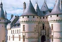 Beautiful castles in the Loire valley and in Europe