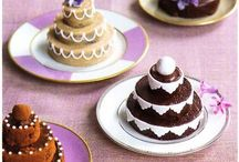 Mini 3 tier cakes and party planning ideas