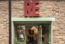 Shop / Just a quick glimpse into what you can expect to find in store here at RE. An Aladin's cave of Shopping delights.
