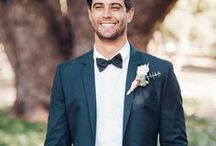 Boutique Bridal Grooms & Groomsmen / Inspirational and chic wedding attire for the Groom and Groomsmen. Suits for the groom and groomsmen.