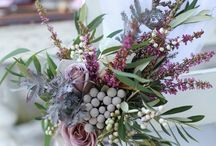 Boutique Bridal  Purple Wedding / Purple wedding inspiration and ideas on how to use purple in your wedding theme. Purple bridal bouquets, purple bridesmaids dresses, purple cakes and purple wedding favours and purple flowers.  #purpleweddingideas