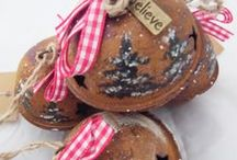 NORDIC VINTAGE CHRISTMAS BELLS AND DECORATIONS / Fun vintage style Christmas decorations customized for that little bit of magic this Christmas.