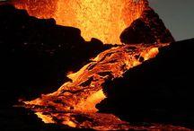Vulkaanuitbarstingen / Allerlei gave vulkaanuitbarstingen