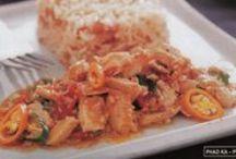 Thai Menu's / How to cook delicious Thai menu's