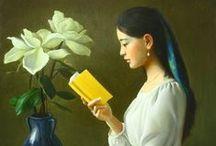 Falun Dafa - Art / #Free2Meditate