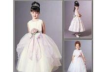 girls fashion / dětská móda, střihy, účesy